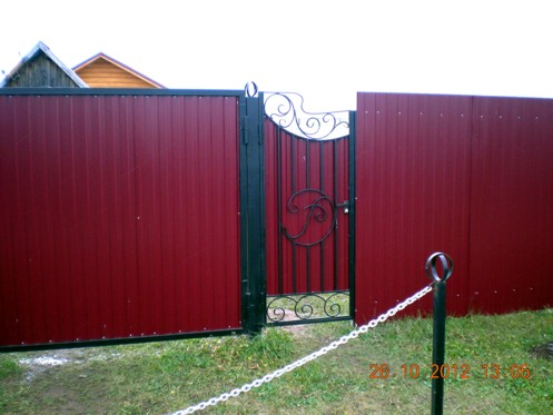 Ворота и калиткив ижевске купить комплект сдвижных ворот в барнауле